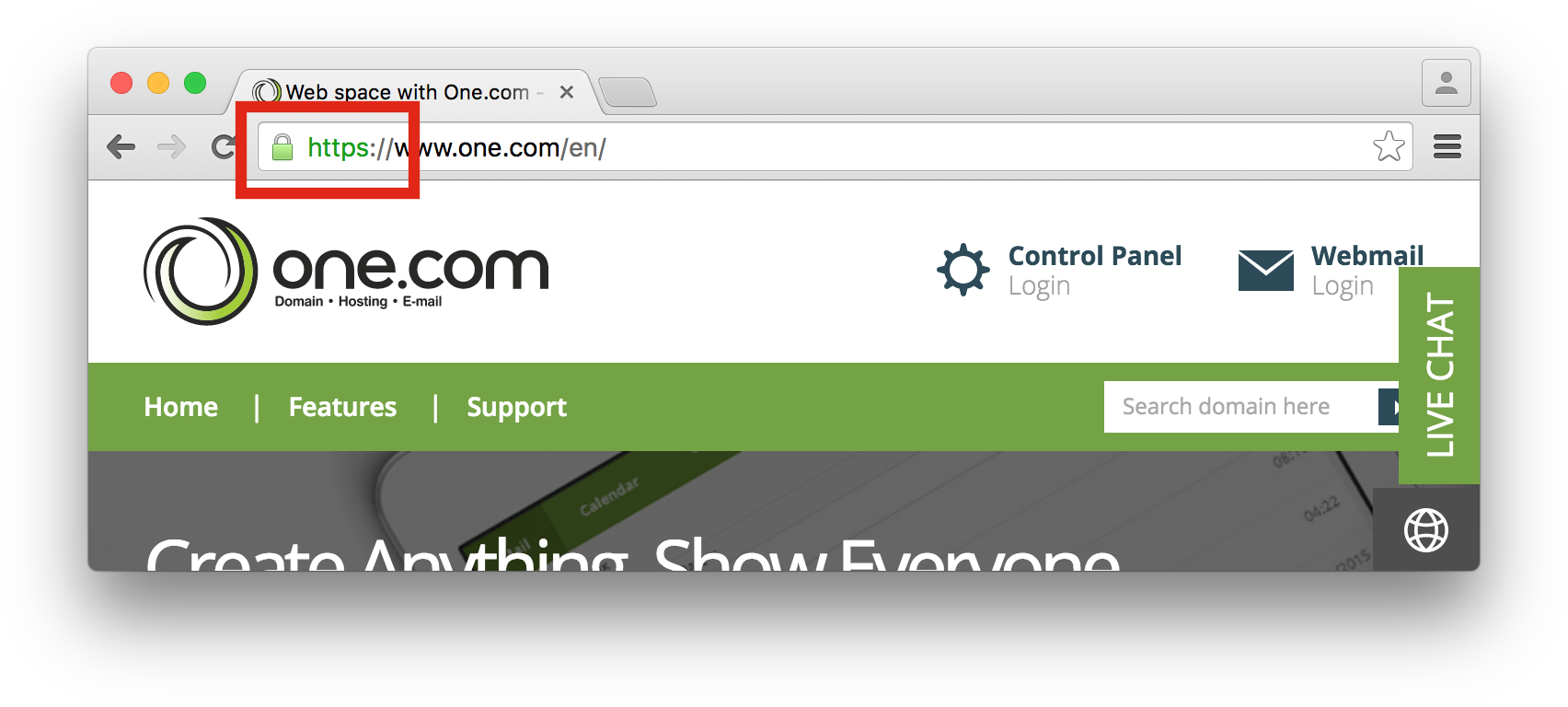 SSL in Chrome